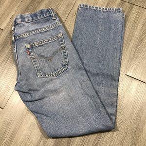 Levi's 511 Slim Light Wash Jeans size 12